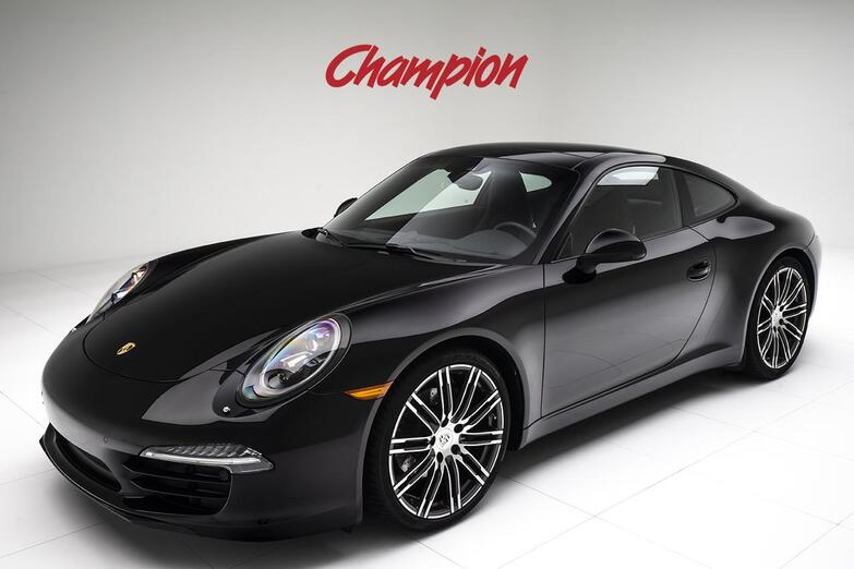 2016 Porsche 911 Carrera Black Edition Pompano Beach FL