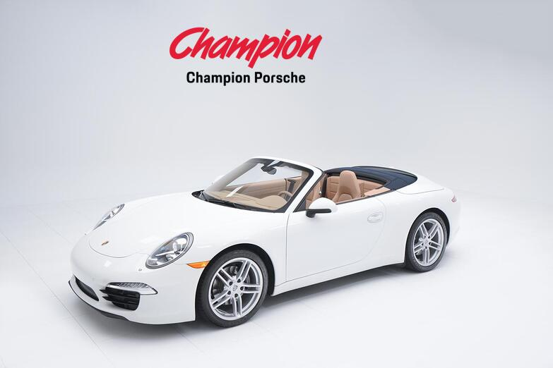 2016 Porsche 911 Carrera Cab Pompano Beach FL