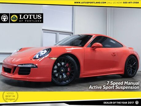 2016_Porsche_911_Carrera GTS 7 Speed Manual Nav Heated Seats_ Portland OR