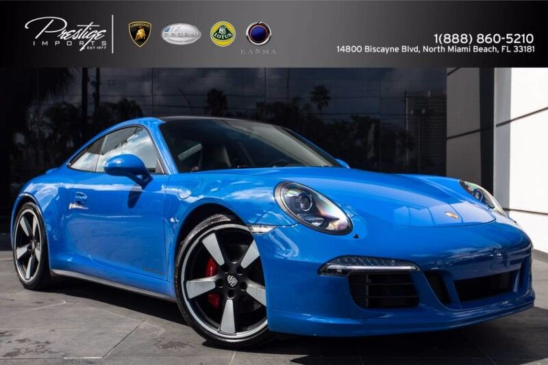 2016 Porsche 911 Carrera GTS CLUB North Miami Beach FL
