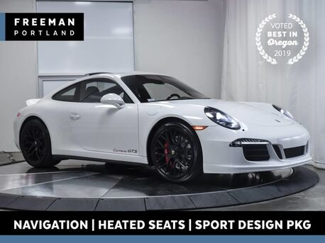 2016_Porsche_911_Carrera GTS Sport Design Package Nav Heated Seats_ Portland OR