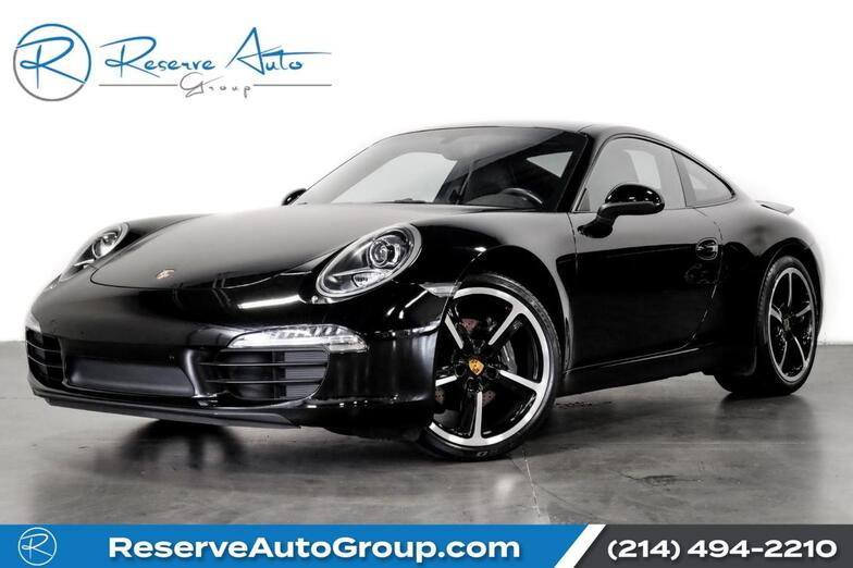 2016 Porsche 911 Carrera PDLS Sport Chrono PremPlus Pkg Sport Techno Whls The Colony TX