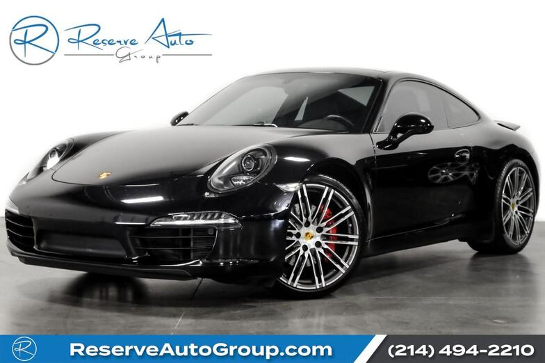 2016 Porsche 911 Carrera S PDK Sport Chrono Premium Pkg Turbo Whls Warranty The Colony TX