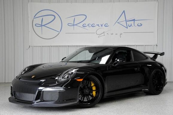 2016_Porsche_911_GT3 PCCB Carbon Bucket Seats LED Headlights_ The Colony TX