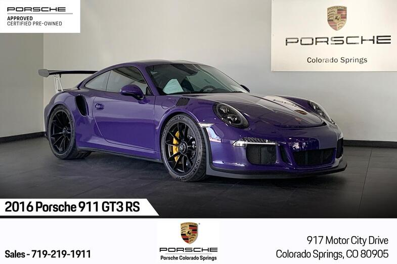 2016 Porsche 911 GT3 RS Colorado Springs CO