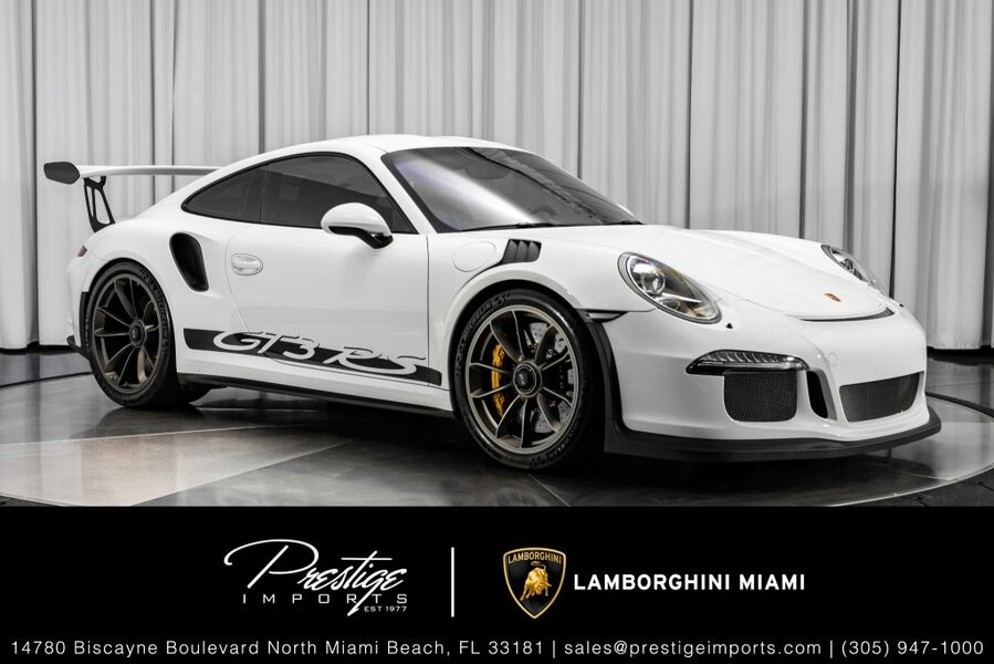 2016_Porsche_911_GT3 RS_ North Miami FL