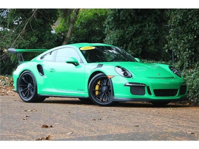 2016 Porsche 911 GT3 RS Rear-wheel Drive Coupe Salem OR