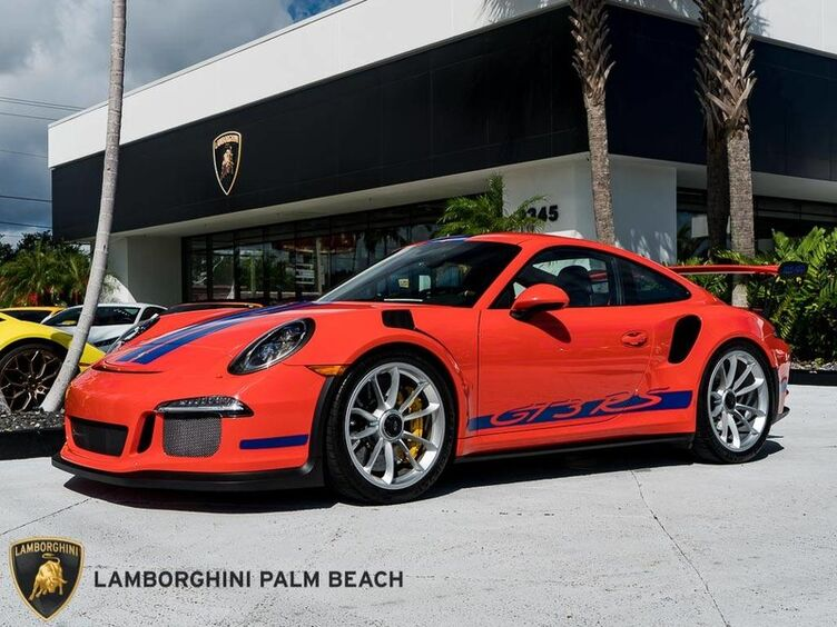 2016_Porsche_911_GT3 RS_ Palm Beach FL