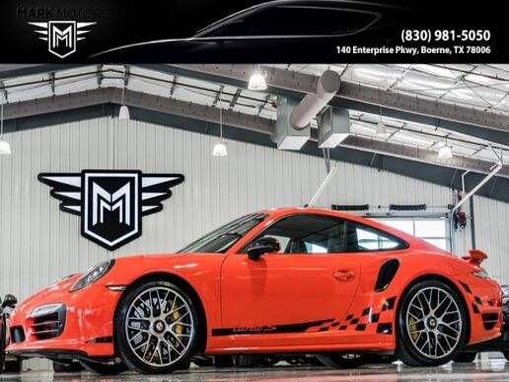 2016 Porsche 911 Turbo S Boerne TX
