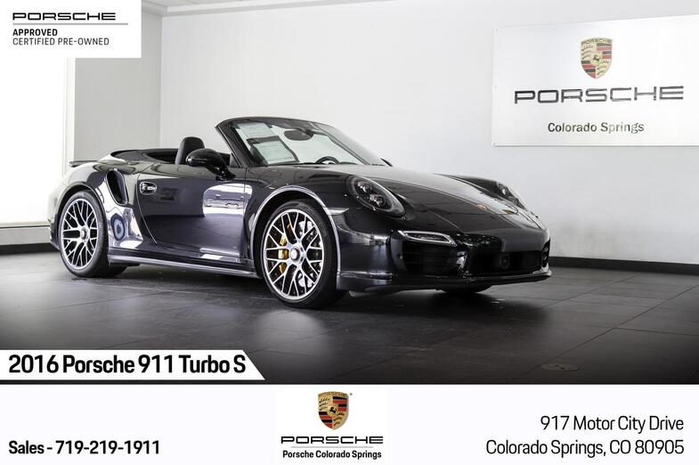2016 Porsche 911 Turbo S Colorado Springs CO
