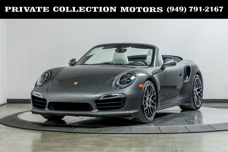 2016 Porsche 911 Turbo S MSRP $205,500 Costa Mesa CA