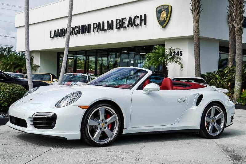 2016_Porsche_911_Turbo_ Palm Beach FL