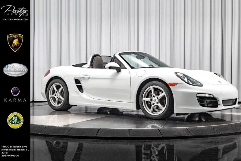 2016_Porsche_Boxster__ North Miami FL