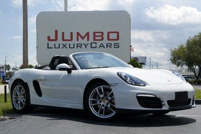 2016_Porsche_Boxster_Base_ Hollywood FL