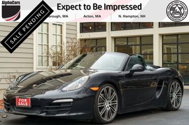 2016_Porsche_Boxster_Black Edition_ Boxborough MA