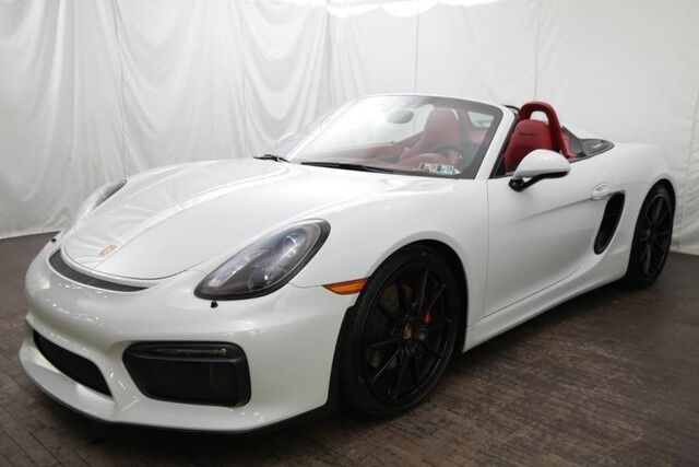 2016 Porsche Boxster Spyder Pittsburgh PA