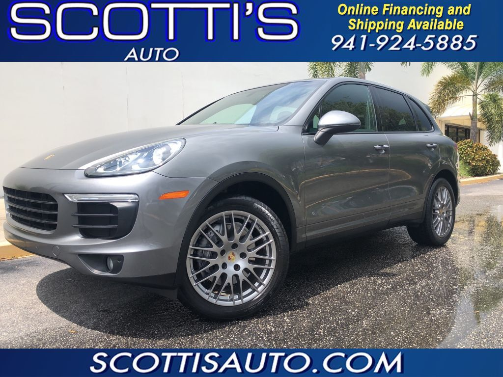 2016 Porsche Cayenne 1-OWNER~ ONLY 29K MILES~ CLEAN CARFAX~ MINT CONDITION! ~SUPER LOW MILES~ GREAT COLOR~ ONLINE FINANCE AND SHIPPING OVER! Sarasota FL