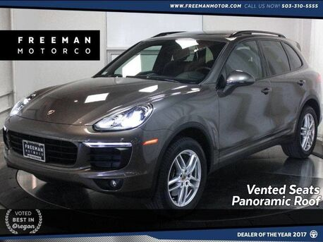 2016_Porsche_Cayenne_AWD Panoramic Roof Navigation Vented Seats_ Portland OR