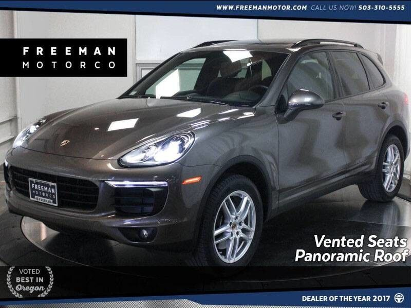 2016 Porsche Cayenne AWD Panoramic Roof Navigation Vented Seats Portland OR