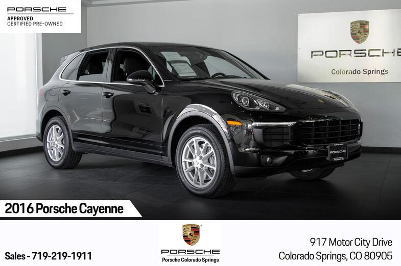 2016 Porsche Cayenne Cayenne Colorado Springs CO
