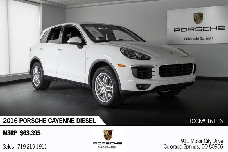 2016 Porsche Cayenne Cayenne Diesel Colorado Springs CO