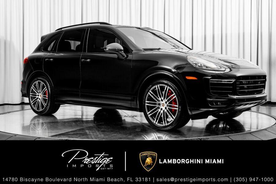 2016_Porsche_Cayenne_GTS_ North Miami FL