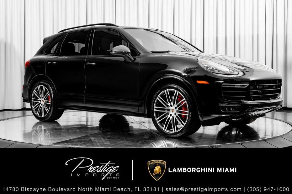 2016_Porsche_Cayenne_GTS_ North Miami Beach FL