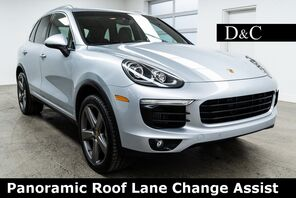 2016_Porsche_Cayenne_S Panoramic Roof Lane Change Assist_ Portland OR