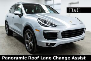 2016 Porsche Cayenne S Panoramic Roof Lane Change Assist