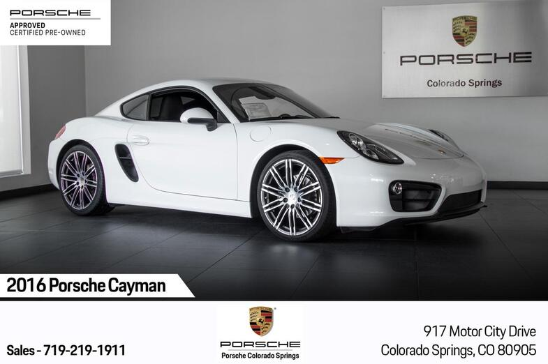 2016 Porsche Cayman Cayman Colorado Springs CO
