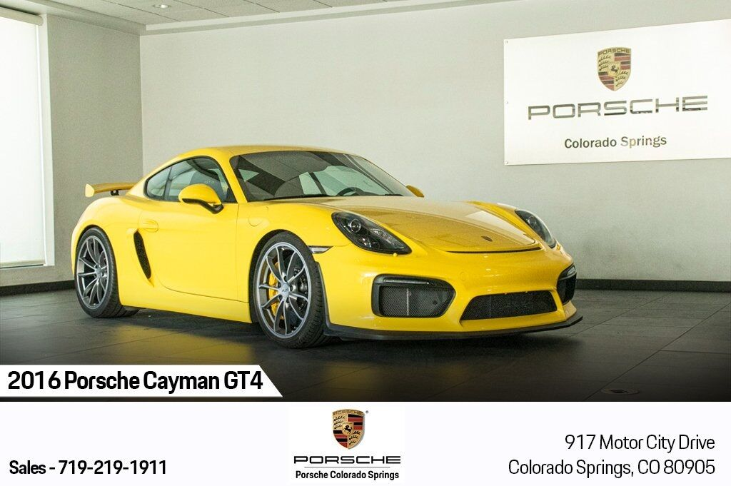 2016 Porsche Cayman GT4 Colorado Springs CO