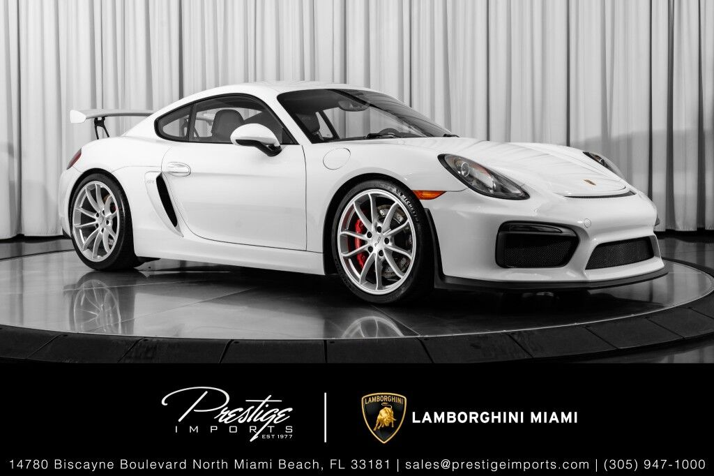 2016_Porsche_Cayman_GT4_ North Miami Beach FL