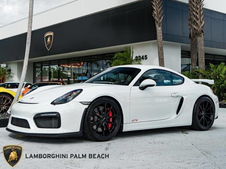 2016_Porsche_Cayman_GT4_ Palm Beach FL