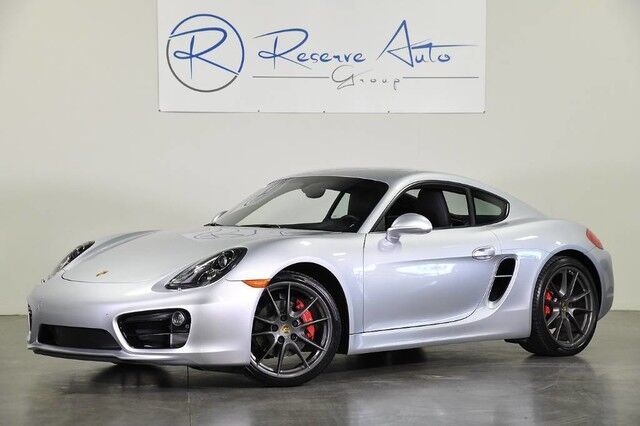 2016 Porsche Cayman S PDLS Sport Exhaust Navigation BOSE Sport Seats The Colony TX