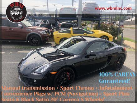 2016_Porsche_Cayman_S Sport_ Arlington VA
