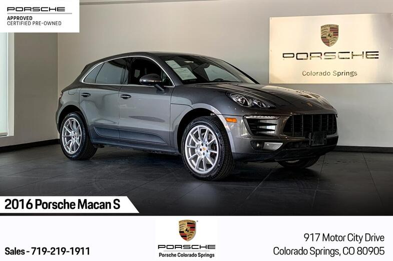 2016 Porsche Macan Macan S Colorado Springs CO