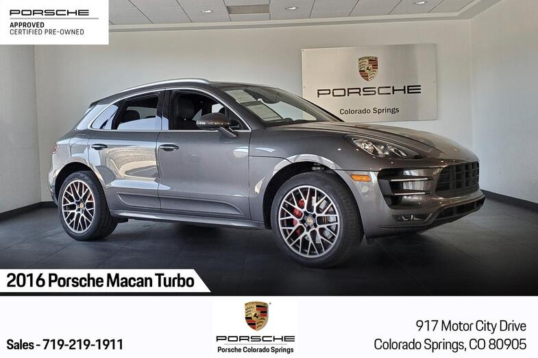 2016 Porsche Macan Macan Turbo Colorado Springs CO