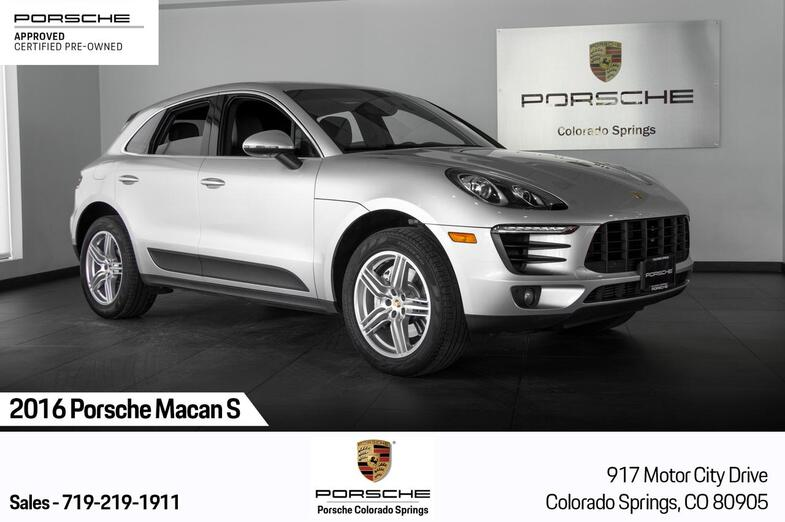 2016 Porsche Macan S Colorado Springs CO