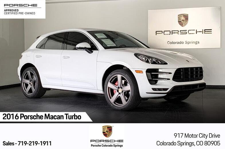 2016 Porsche Macan Turbo Colorado Springs CO