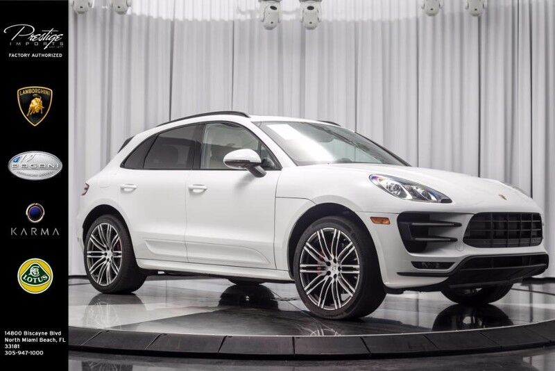 2016_Porsche_Macan_Turbo_ North Miami Beach FL