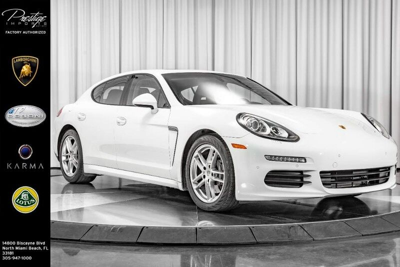 2016_Porsche_Panamera__ North Miami Beach FL