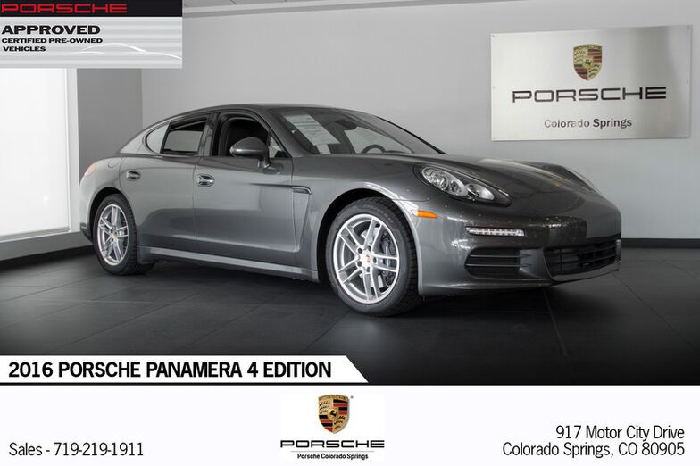 2016 Porsche Panamera 4 Edition Colorado Springs CO