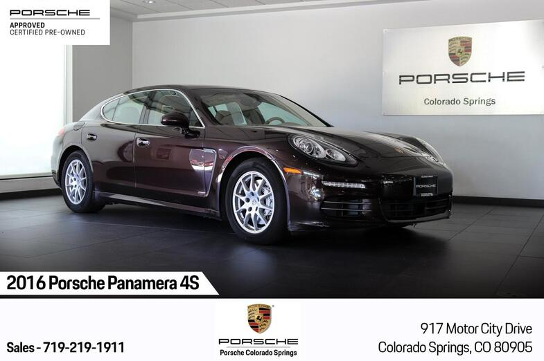 2016 Porsche Panamera 4S Colorado Springs CO