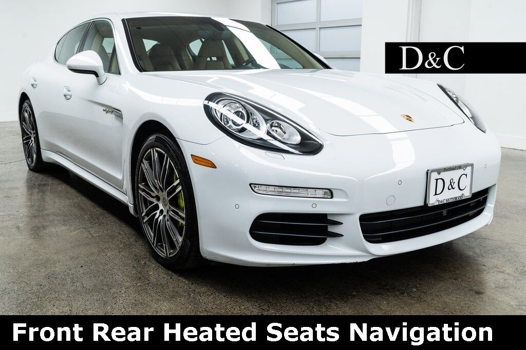 2016 Porsche Panamera E-Hybrid S Front Rear Heated Seats Navigation Portland OR