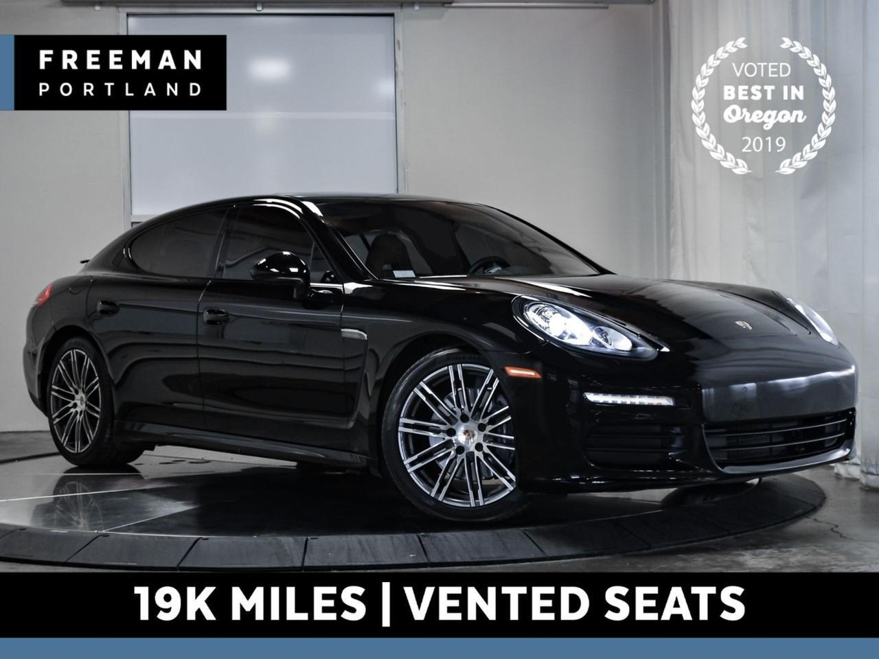2016 Porsche Panamera Edition 19k Miles Vented Seats Back-Up Cam Nav