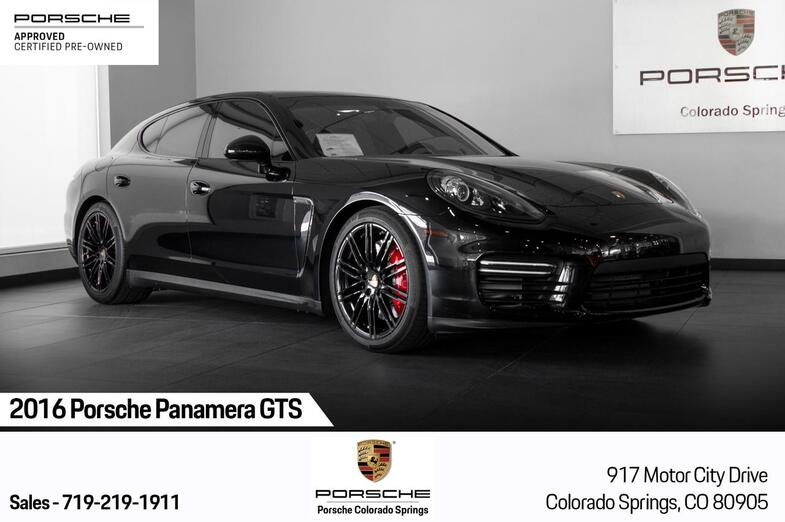 2016 Porsche Panamera GTS Colorado Springs CO