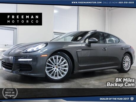 2016 Porsche Panamera Just 8K Miles Backup Cam heated Seats Portland OR