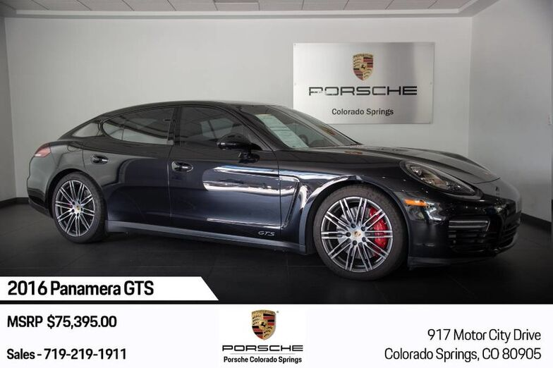 2016 Porsche Panamera Panamera GTS Colorado Springs CO