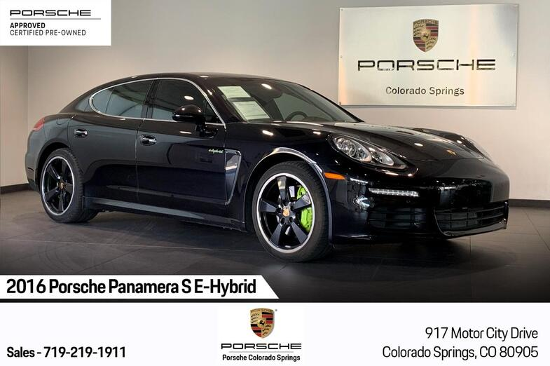 2016 Porsche Panamera S E-Hybrid Colorado Springs CO