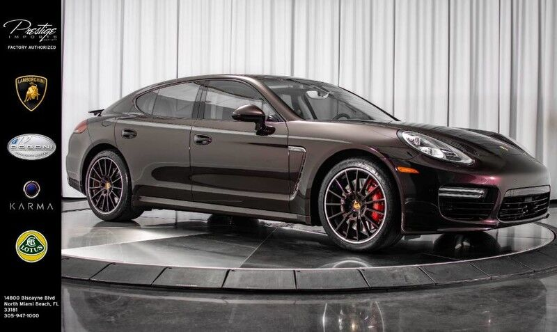 2016_Porsche_Panamera_Turbo_ North Miami FL